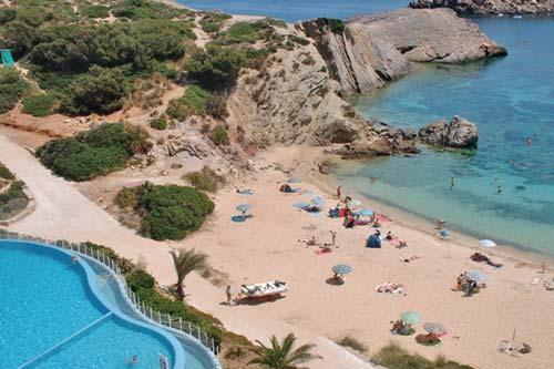 White Sands Beach Club Menorca, Balearic Islands, Spain, Europe